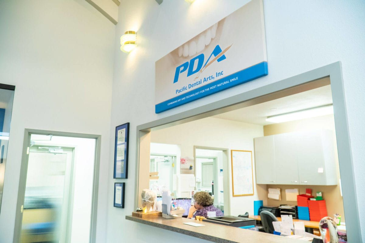 waiting/ front desk of PDA Lab